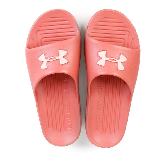 Chinelo Slide Under Armour Core Feminino - Rosa