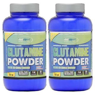 2 Glutamina 150+150 G Ultra Micronizada Hoch Sport Glutamine