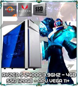 Cpu Gamer Ryzen 5 2400g Quad Core 3.9ghz 4gb Ddr4 Bg015 Whit