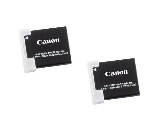 Canon Nb-11l 2x Recargable 3.6v 680mah 2.5wh Batería De Ione