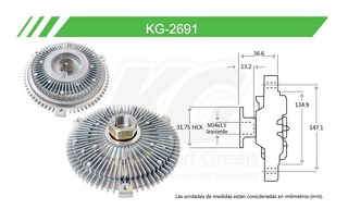 Fan Clutch Bmw 3 Series E46 2000