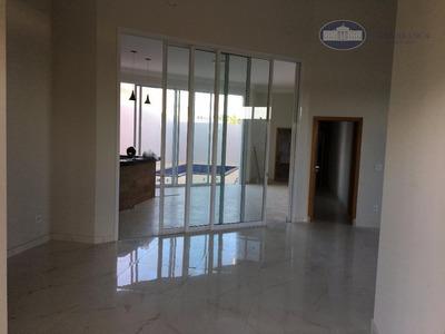 Casa Residencial À Venda, Condomínio Vila Toscana, Araçatuba. - Ca0577