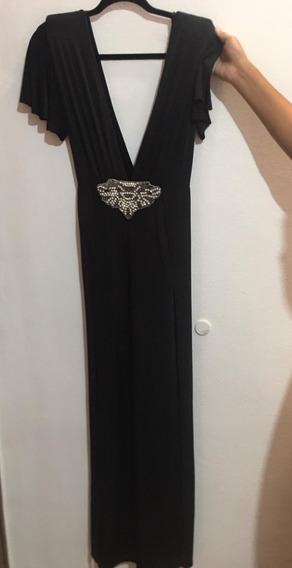 Vestido De Fiesta Largo Negro Rubi