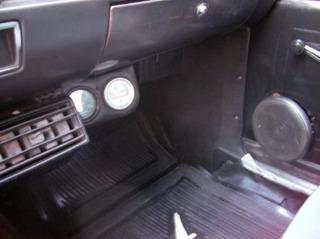 Panel Costado De Pedalera Ford Falcon 62/81 Negro Nuevo!!!!