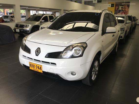 Renault Koleos Dynamique 4x4 Mt 2.5cc Blanca 2012 Kkk944
