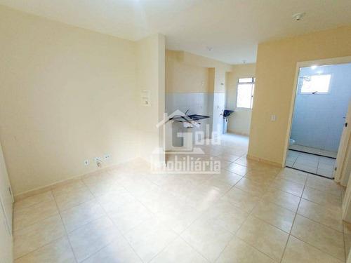 Imagem 1 de 17 de Apartamento Com 2 Dormitórios, 43 M² - Venda Por R$ 113.000 Ou Aluguel Por R$ 740/mês - Jardim Heitor Rigon - Ribeirão Preto/sp - Ap4738