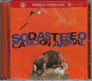 Soda Stereo Canción Animal Cd Nuevo