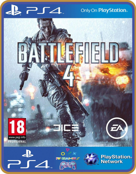 Ps4 Battlefield 4 Psn Original 1 Mídia Digital