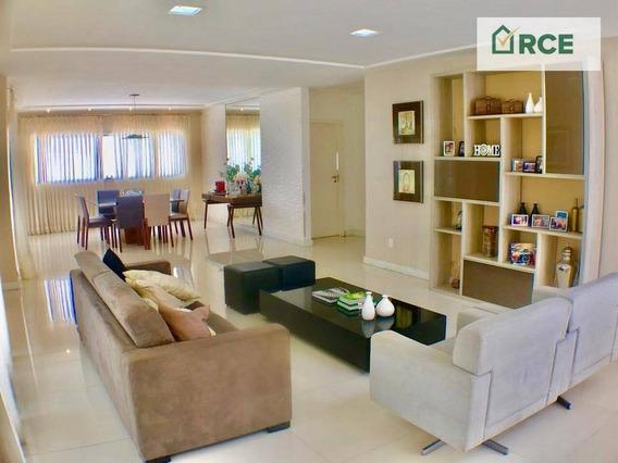 Casa Com 5 Dormitórios À Venda Por R$ 1.499.000 - Candelária - Natal/rn - Ca0099