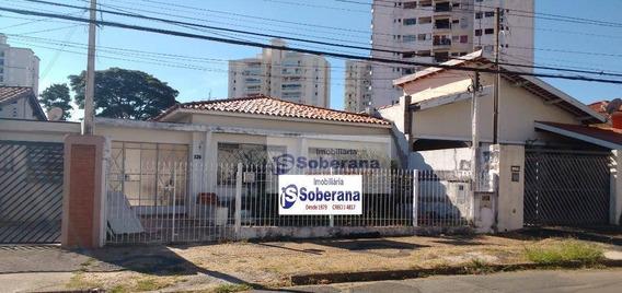 Casa Para Alugar, 150 M² Por R$ 5.000/mês - Taquaral - Campinas/sp - Ca3387