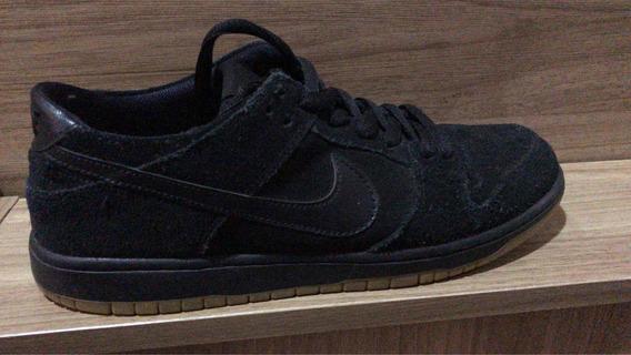 Tênis Nike Sb Dunk Low Pro Premium Black Raridade Usado