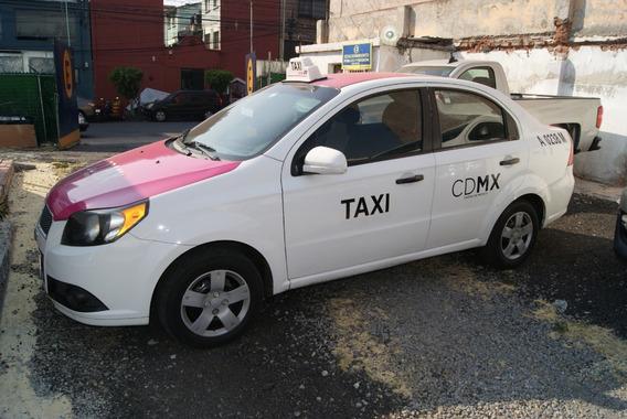 Chevrolet Aveo Ls 2012. Taxi Con Conseción.