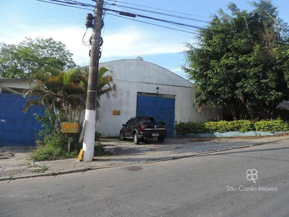 Galpão Para Alugar, 470 M² Por R$ 7.500,00/mês - Granja Viana - Cotia/sp - Ga0041
