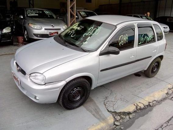 Chevrolet Corsa Wind 1.6 Mpfi 4p 2000 Prata Completo