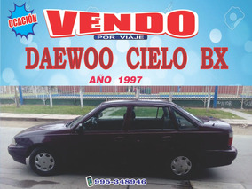 Daewoo Cielo Bx 97 Auto Sedan (negociable)