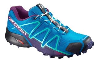 Zapatillas Salomon - Speedcross 4 W Mujer Trekking Correr