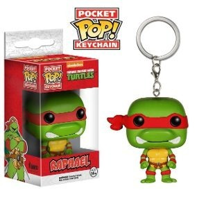 Chaveiro Pocket Pop! - Tartarugas Ninja - Raphael