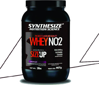 No2 Whey Protein - Pote - Size Up Chocolate