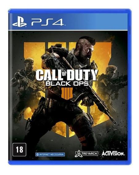 Jogo Mídia Física Call Of Duty Black Ops 4 Ps4 Lacrado