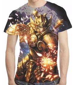 Camisa Cavaleiros Do Zodiaco Camiseta Shiryu De Libra Hd