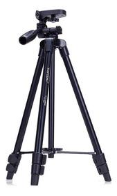 Tripé Universal Fotográfico Profissional Nikon Canon 1,30 Mt