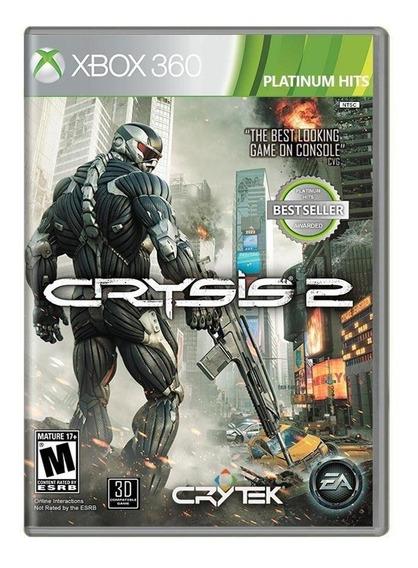Jogo Mídia Física Crysis 2 Ea Games Original Para Xbox 360