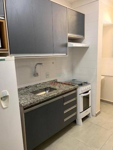 Apartamento Com 1 Dormitório Para Alugar, 32 M² Por R$ 1.150,00/mês - Vila Maracy - Bauru/sp - Ap2057