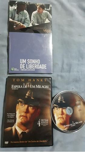 Livro Dvd Um Sonho De Liberdade+ À Espera De Um Milagre Va17