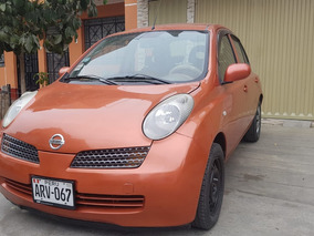 Nissan March 2004 Full Equipo Automatico