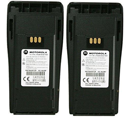 Motorola Orignal Oem Nntn4497dr Double Pack 74 Volts Liion