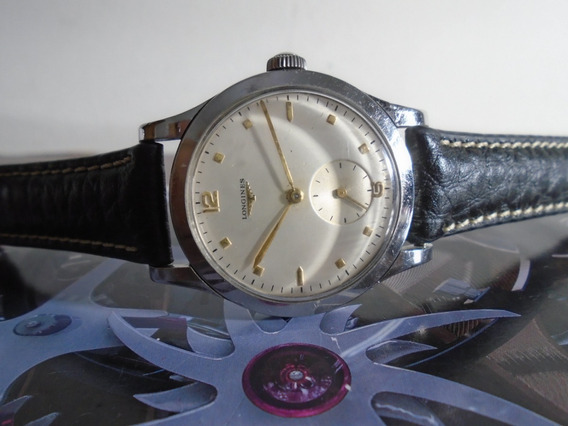 Longines Antigo Calibre 1268z Ano 1948 Big 37,10 Mm
