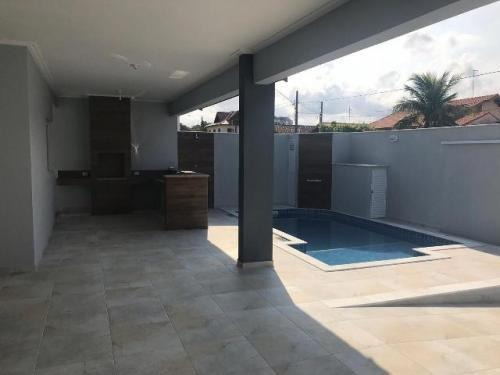 Excelente Casa No Bairro Flórida, Peruibe, Ref. 5216 M H