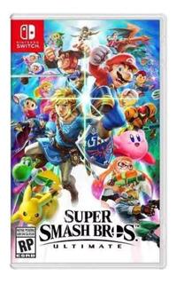 Super Smash Bros Ultimate - Switch Juego Físico
