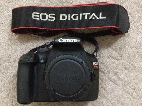 Camera Canon T3/rebel Com Lente 18-55