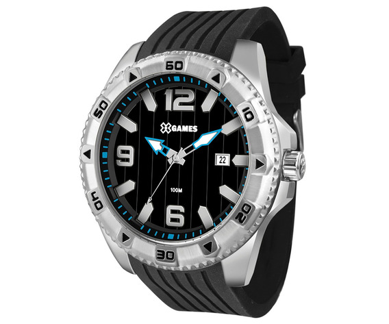 Relógio X-games Masculino Xteel Prata Xmsp1014-p2px