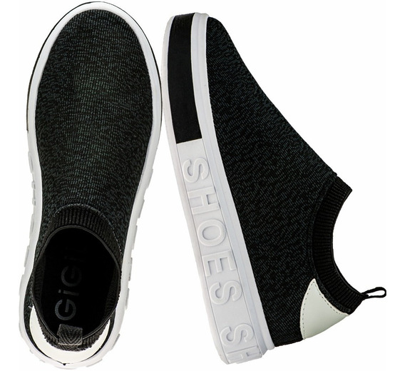 Tenis Feminino Sneaker It Shoes Slip-on Calce Fácil Tricô