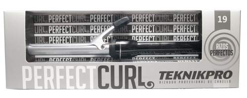Buclera Profesional Teknikpro Perfect Curl 19mm Peluquería