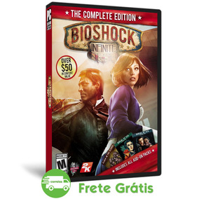 Bioshock Infinite Pc The Complete Edition Mídia Física (dvd)
