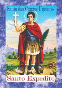 Milheiro Santinho Santo Expedito Oração Pronta Entrega