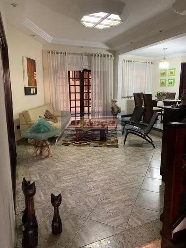 Sobrado Com 5 Dormitórios À Venda, 290 M² Por R$ 1.300.000 - Jardim Bom Clima - Guarulhos/sp - Cód.  - Ai14273