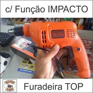 Furadeira C Função Impacto 220v 560w Broca Até 10mm