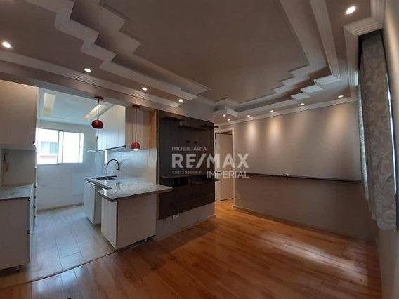 Apartamento Com 2 Quartos À Venda, 45 M² Por R$ 215.000 - Jardim Da Glória - Cotia/sp - Ap1136