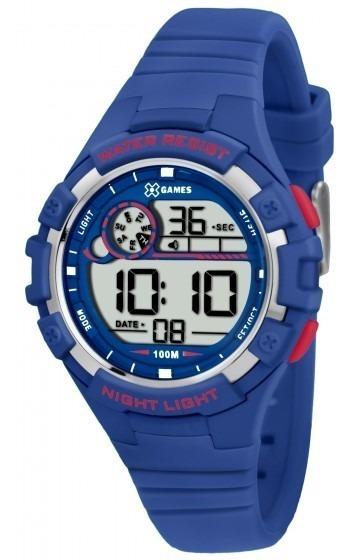 Relógio Xgames Xkppd010 Bxdx Masc Unissex Azul - Refinado
