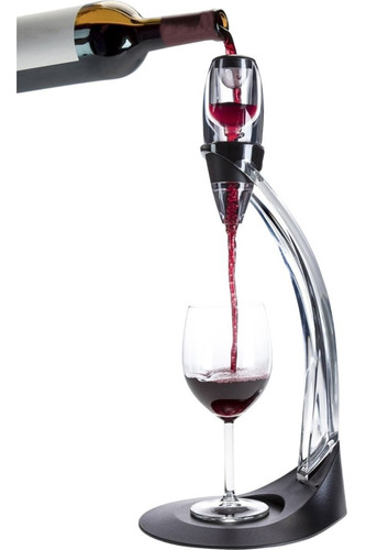 Imagen 1 de 7 de Decantador Oxigenador Para Vino Deluxe