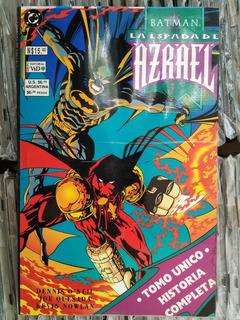 Batman La Espada De Azrael Ed. Vid Comics Duncant