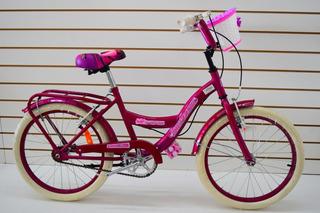 Bicicleta Rodado 20 Bruzzoni Primavera Nena