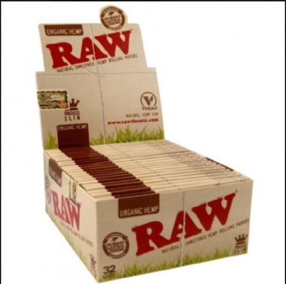 Caixa De Seda Raw Organic King Size