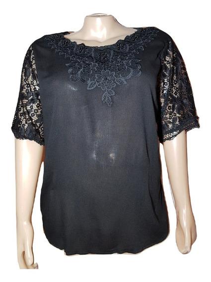 Blusa Camisola Importada T.grandes Dama/mujer Del 3xl Al 6xl
