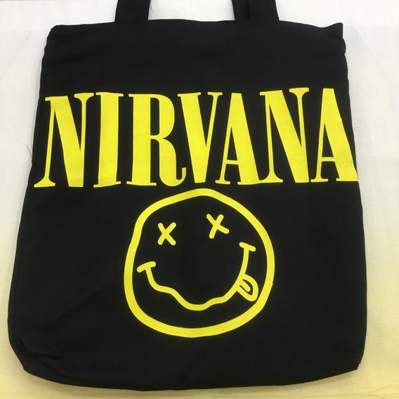 Bolsa Tecido Nirvana Rock