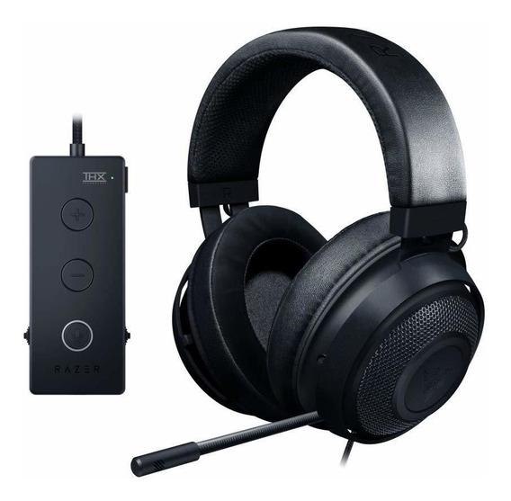 Headset Razer Kraken Tournament Preto Thx 7.1 Pc Ps4 Xbox